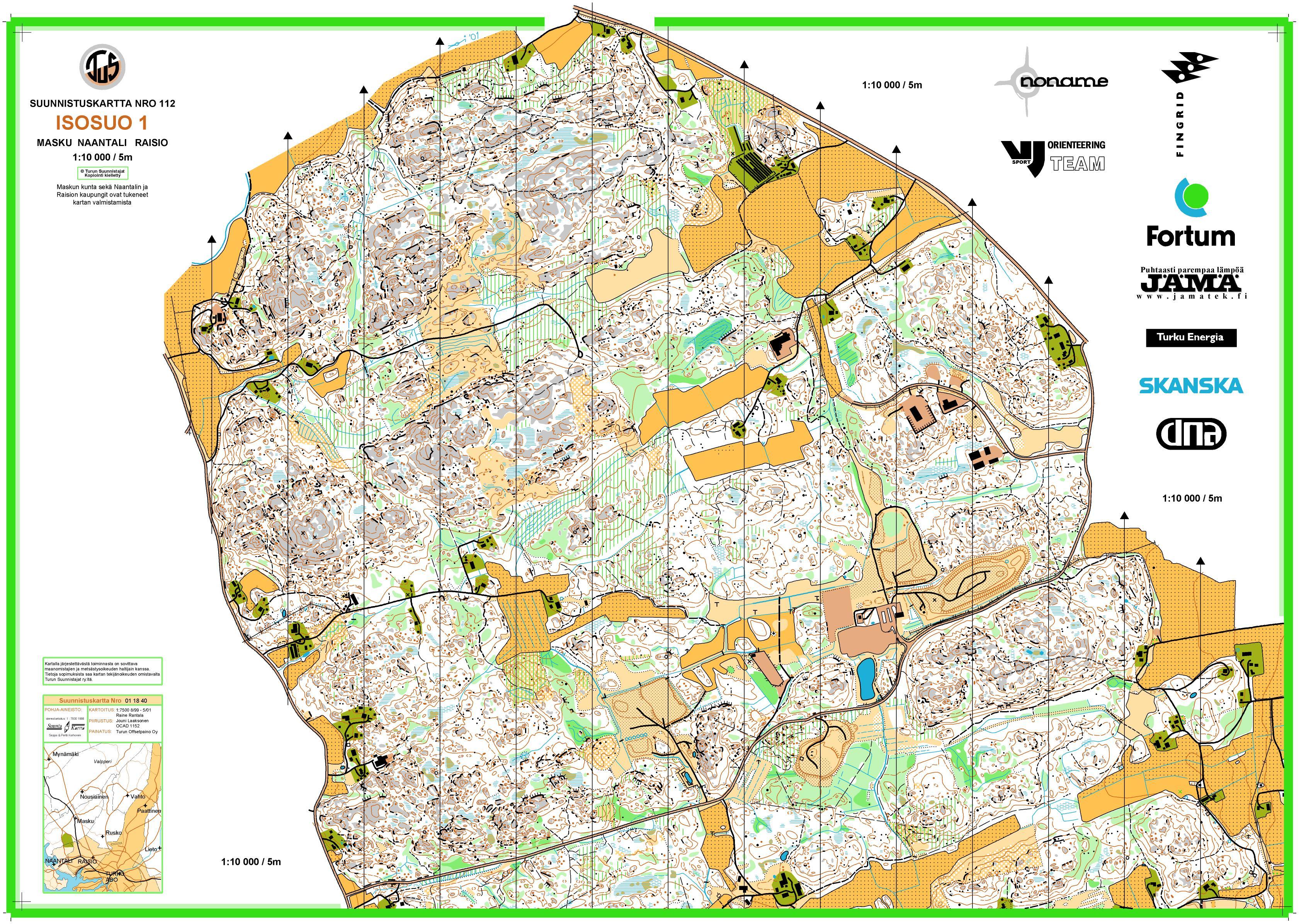 Turku Attackpoint Orienteering training racing running